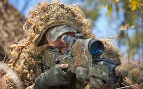 Картинка оружие, снайпер, Australian Army, соддат