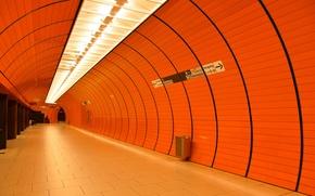 Картинка метро, станция, Германия, Мюнхен