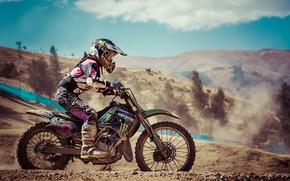 Картинка Sport, Racer, Motocross