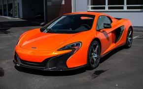 Картинка McLaren, orange, Spider, 650S