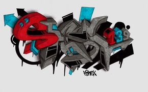 Картинка graffiti, sketch, FireX, shest139