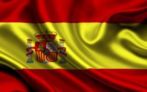 Обои флаг, испания, spain