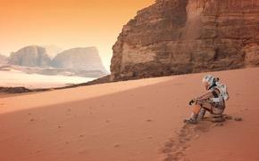 Картинка Мэтт Дэймон, Matt Damon, Марсианин, The Martian