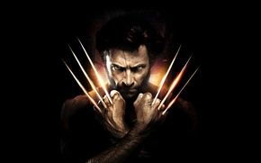 Обои Action, Fantasy, Wolverine, Hugh Jackman, X-Men, Origins, Logan, 2009, Wallpaper, Boy, Year, MARVEL, 20th Century ...