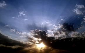 Картинка sky, nature, cloud, art, dinosaur, suhart, cloud art