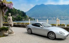 Картинка море, горы, Maserati, Zagato, GS