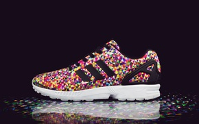 Картинка Адидас, кроссовки, Adidas, Flux Multi Color