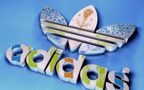 Обои спорт, адидас, adidas, фирма