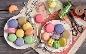 Картинка еда, sweets, macarons, Anna Verdina