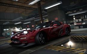 Картинка тюнинг, гараж, mazda rx7, Need for Speed world