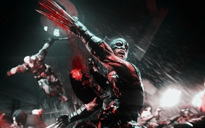 Картинка blood, X-Men, wolverine, violence