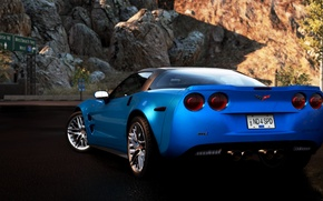 Картинка Cars, Chevrolet Corvette ZR1, NFS Hot Pursuit 2010, Сидж