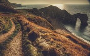 Картинка пейзаж, Dorset, Durdle Door