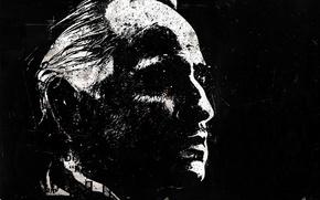 Обои Вито Корлеоне, Marlon Brando, Марлон Брандо