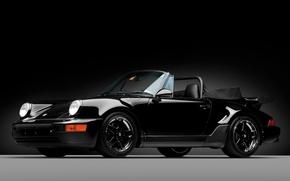 Картинка 911, Porsche, 1992, Чернея Чёрного, America Roadster
