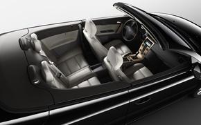 Картинка купе, Volvo, Black, Coupe, вольво, внутри, Interior, C70, черни, с70