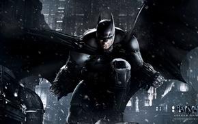 Картинка снег, игры, batman, бэтмен, темный рыцарь, games, готэм, комикс, comics, dark knight, bruce wayne, batman: …