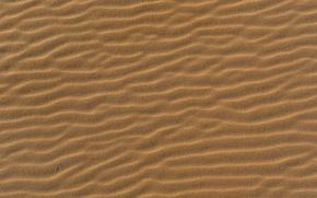 Картинка пляж, пустыня, Песок, текстура, песчинки