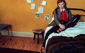 Картинка фотосессия, Vogue, автор песен, Karen Elson, британская певица