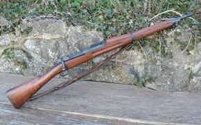 Картинка оружие, фон, винтовка, Springfield, магазинная, M1903