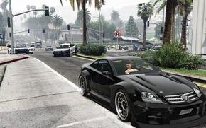 Картинка Игра, Rockstar, Game, Grand Theft Auto V, GTA 5
