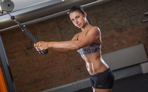 Картинка female, workout, gym, arms