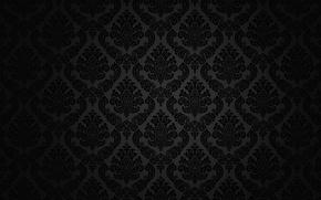 Картинка ретро, узор, vector, dark, black, орнамент, vintage, texture, винтаж, background, pattern, gradient