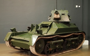 Картинка легкий, танк, британский, Light Tank Mk II
