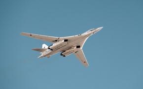 Картинка бомбардировщик, Ту-160, стратегический бомбардировщик-ракетоносец, сверхзвуковой, Павел Таран