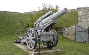 Картинка German, WW1, Artillery, Cannon, Krupp