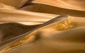 Картинка песок, пустыня, бархан