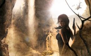Картинка Игры, Лара Крофт, Арт, Game, Lara Croft, Rise of the Tomb Raider