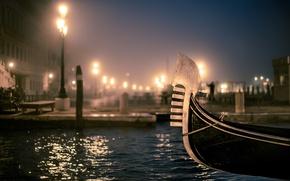 Картинка вечер, Венеция, photo, photographer, гондола, Venice, Jamie Frith