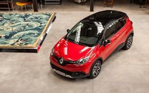 Картинка Красный, Авто, Renault, Captur, Hypnotic, 2016, Металлик