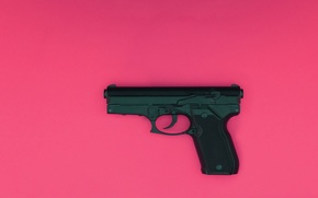 Картинка пистолет, оружие, фон