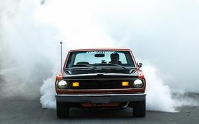 Картинка Burnout, Dodge, Orange, Dart