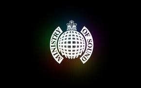 Обои Ministry Of Sound, корона, логотип, logo