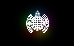 Обои логотип, корона, logo, Ministry Of Sound