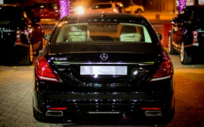 Картинка Mercedes, w222, s500