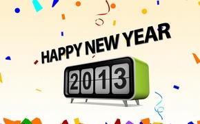 Картинка праздник, новый год, new year, happy new year, 2013