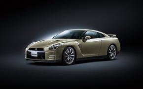 Картинка фон, Nissan, GT-R, ниссан, R35
