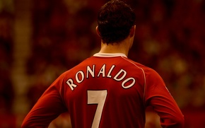 Картинка футбол, спорт, манчестер юнайтед, роналдо, клубы, ronaldo, manchester united
