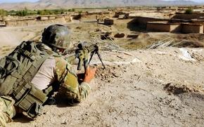 Обои война, солдат, снайпер, ренджер