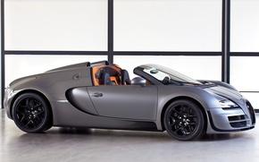 Обои bugatti, veyron, grand sport, roadster, vitesse, автомобиль