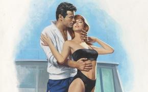 Картинка рисунок, живопись, художник-иллюстратор, Barnett Plotkin