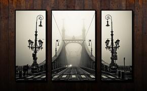 Картинка мост, ретро, фото, фрагмент