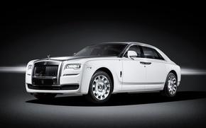 Картинка гост, Rolls-Royce, Ghost, роллс-ройс, фон