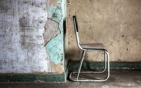 Картинка фон, стена, стул