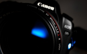 Обои макро, Canon, фотоаппарат, камера