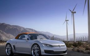 Картинка Volkswagen, родстер, кабриолет, BleuSport